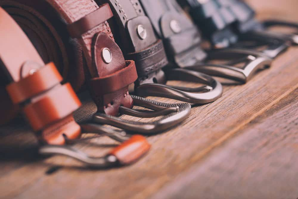 best mens leather belts