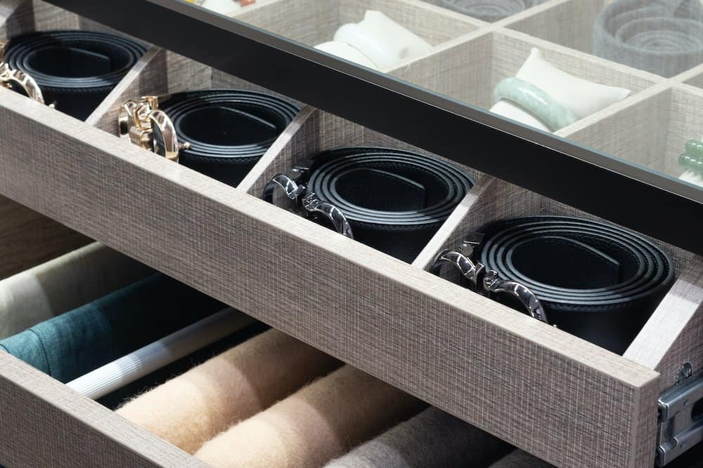 how to store belts